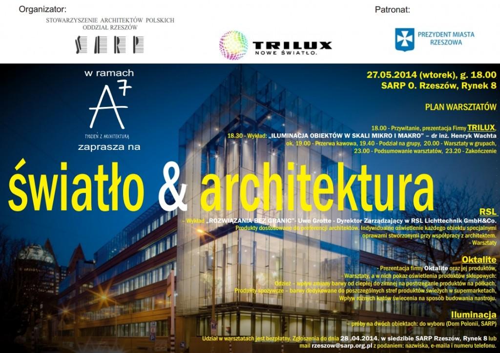 swiatlo i architektura a7 warsztaty sarp 2