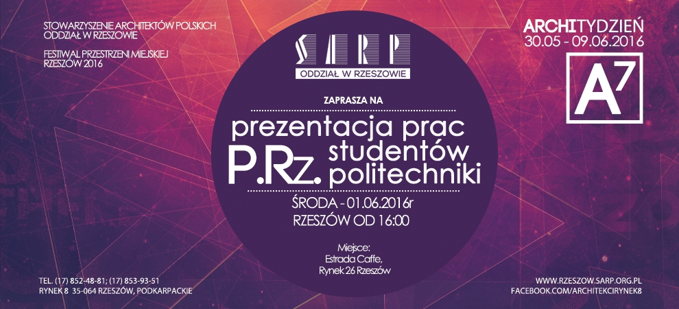 prezentacja prac studentow politechniki